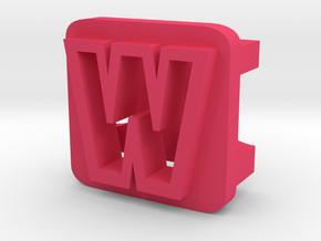 BandBit W2 for Fitbit Flex in Pink Processed Versatile Plastic