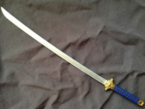 Anime Katana 1 in White Natural Versatile Plastic