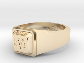 ClassRing size 9 in 14K Yellow Gold