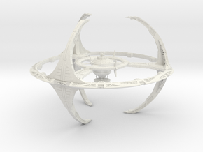 Deepspace 9 in White Strong & Flexible