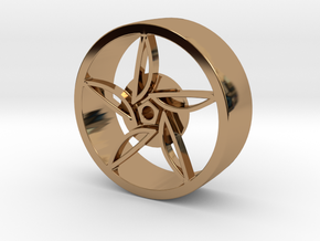 F80 Wheel in Polished Brass