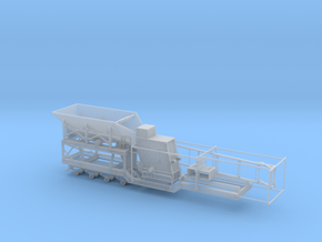 1/64th Large Impact Rock Crusher trailer Part 1  in Smooth Fine Detail Plastic