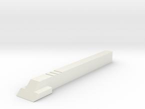 Krümel-Leiste für Ford Nugget in White Natural Versatile Plastic