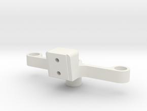 Traverse 3 in White Natural Versatile Plastic