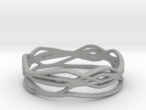 Ring Design 01 Ring Size 9.5 in Aluminum
