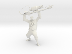 TF2 Pyro (proof of concept) in White Strong & Flexible
