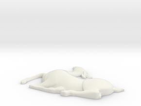 Deerf30 in White Natural Versatile Plastic