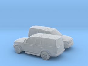 1/148 2X 2004-09 Land Rover Discovery in Frosted Ultra Detail