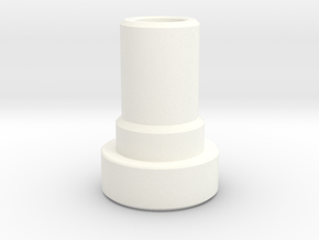 Shaft Support Tower in White Processed Versatile Plastic