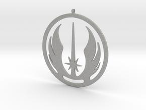 Symbol of the Jedi Order in Aluminum