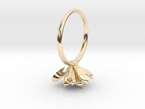Succulent Stacking Ring No. 3 in 14K Yellow Gold: 5 / 49