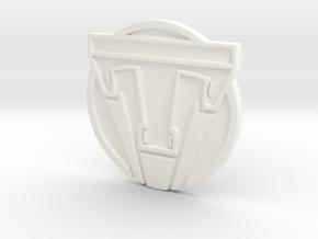 TOMORROWLAND pin in White Processed Versatile Plastic