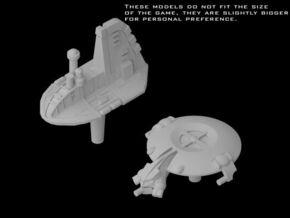 (Armada) 1x Neimoidian Shuttle + 1x Droid Gunship in Frosted Ultra Detail