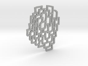 Cells Pendant in Aluminum