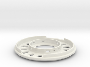 Magrav Stacker Inner Coil Plate Casing B in White Natural Versatile Plastic