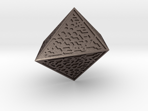 MTG Hedron in Polished Bronzed Silver Steel