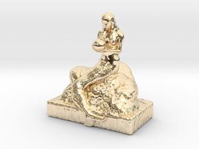 Mermaid 20160229 AS in 14K Yellow Gold