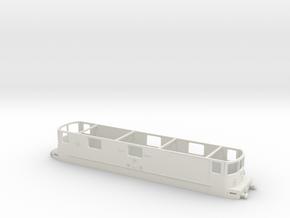 Re 425 Bls TT Gehäuse ohne Dach Scale TT in White Natural Versatile Plastic: 1:120