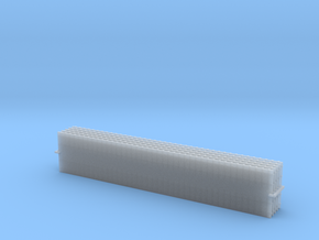 Straight Double Track, Doppelgleis 5x 1/285 /6mm in Smooth Fine Detail Plastic