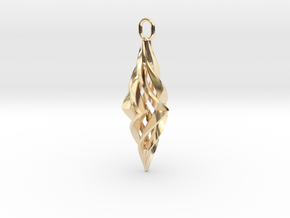 Vision Pendant in 14k Gold Plated Brass