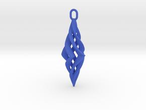 Vision Pendant in Blue Processed Versatile Plastic