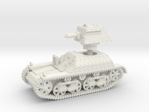 Vickers Light Tank Mk.IIa (15mm) in White Natural Versatile Plastic