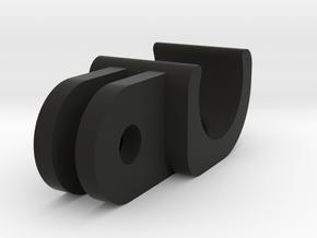 AyUp lights to GoPro-style mount (old design) in Black Natural Versatile Plastic