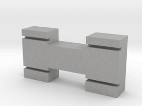 N-Gauge-Block in Aluminum