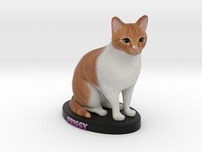 Custom Dog Figurine - Prissy in Full Color Sandstone