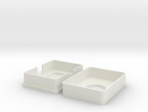 Pokemon Card Holder Advanced in White Natural Versatile Plastic
