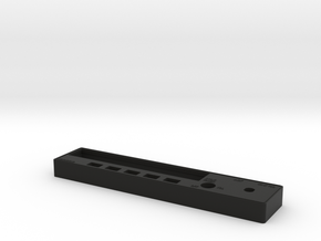 KR87 ADF Faceplate in Black Natural Versatile Plastic