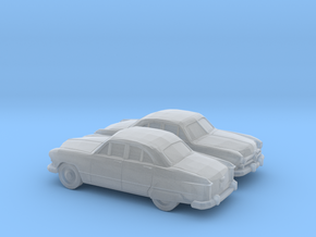 1/160 2X 1949 Ford Fordor Sedan in Smooth Fine Detail Plastic