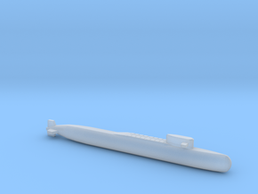 Yankee I - Class SSBN, Full Hull, 1/1800 in Smooth Fine Detail Plastic