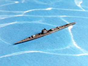 German Submarine Cruiser Type XIb 1/1250 in White Natural Versatile Plastic