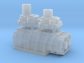 1/64 Scale 14-71 Kobelco Blower in Smoothest Fine Detail Plastic