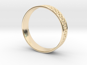 Ornamental Ring in 14K Yellow Gold