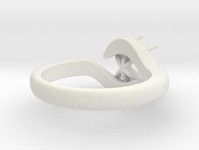 Model-7b98e26d802e31ebba03b31c03e2c7dc in White Natural Versatile Plastic