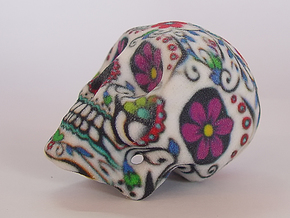 Sand Stone Skull in Full Color Sandstone