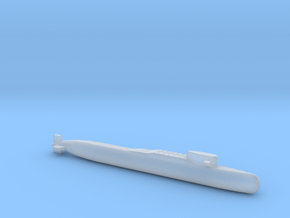 Yankee II - Class SSBN, Full Hull, 1/1800 in Smooth Fine Detail Plastic