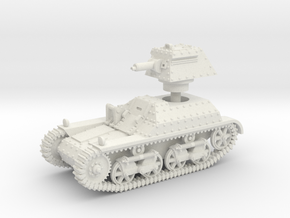 Vickers Light Tank Mk.IIb (15mm scale) in White Natural Versatile Plastic
