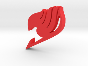 """Fairy Tail Symbol"" - A Monopoly Figure in Red Processed Versatile Plastic"