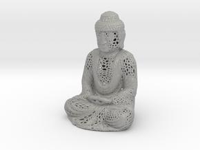 Full Buddha For Shapeways in Raw Aluminum