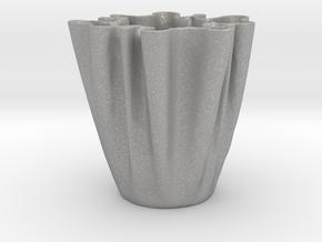 Cloth Cup in Aluminum