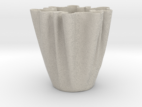 Cloth Cup in Natural Sandstone