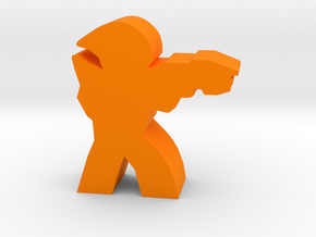 Game Piece, Ancients Trooper in Orange Strong & Flexible Polished