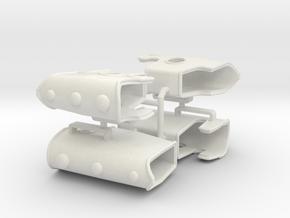 custom order 2 Pairs in White Natural Versatile Plastic