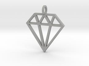 Pendant 'Diamond' in Aluminum
