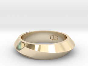 Infinity Ring - Size 6 in 14K Yellow Gold