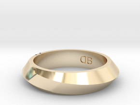 Infinity Ring - Size 7-1/2 in 14K Yellow Gold