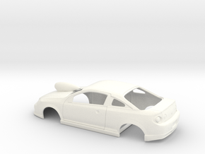 1 /25 Scale Cobalt SS Atached Hood Scoop in White Processed Versatile Plastic